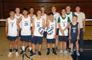 JV Boys Volleyball Team