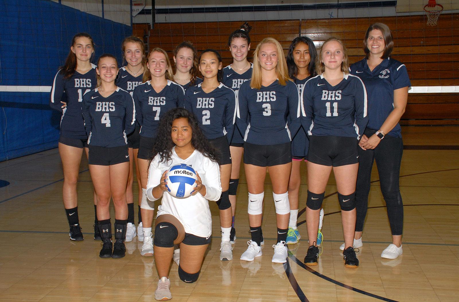 V Girls Volleyball Team